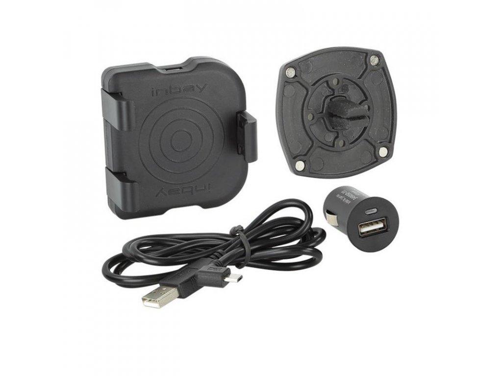 Qi bezdrátová nabíječka, univerzální, do ventilace Qi UNI AIR