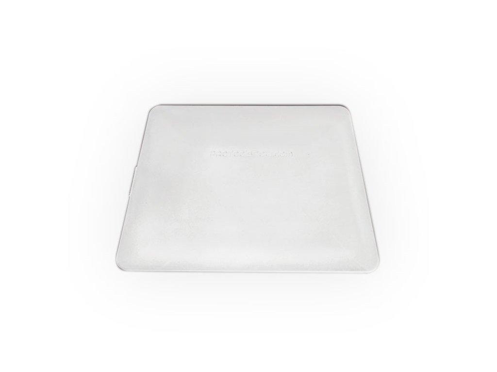 Teflonová stěrka tvrdá, bílá, 10cm KF 638 W