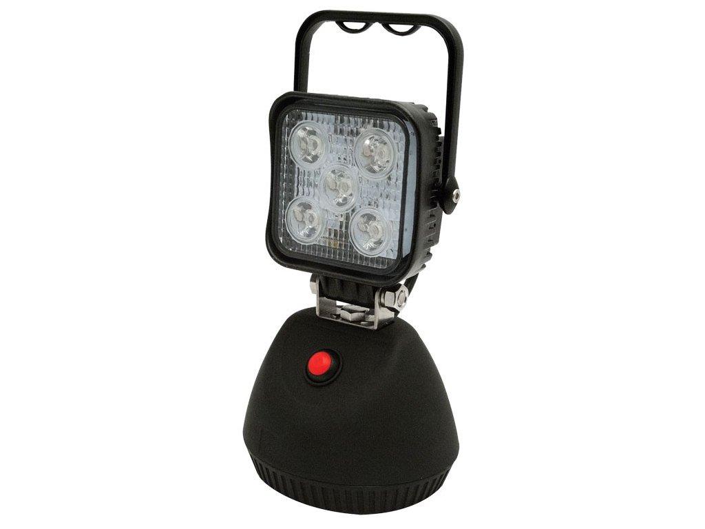 Pracovní LED světlo ECCO, magnet, 5 x 3W LED, bílé, EW2461