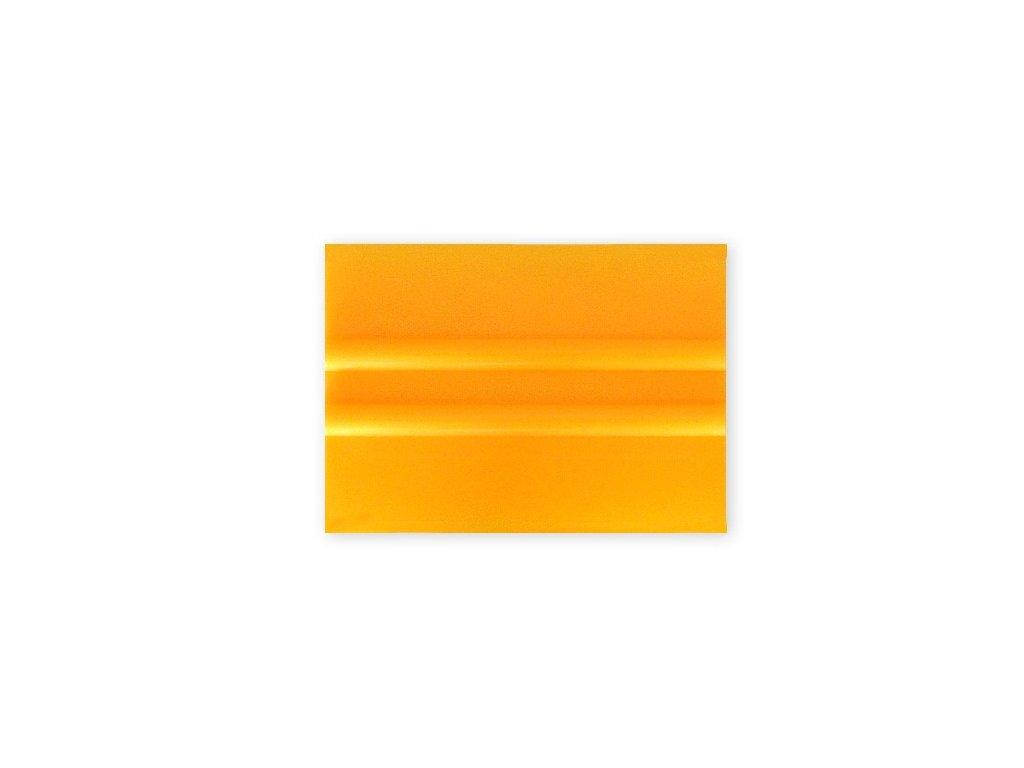 Tvrdá PVC 10cm stěrka, žlutá KF 634 SQ