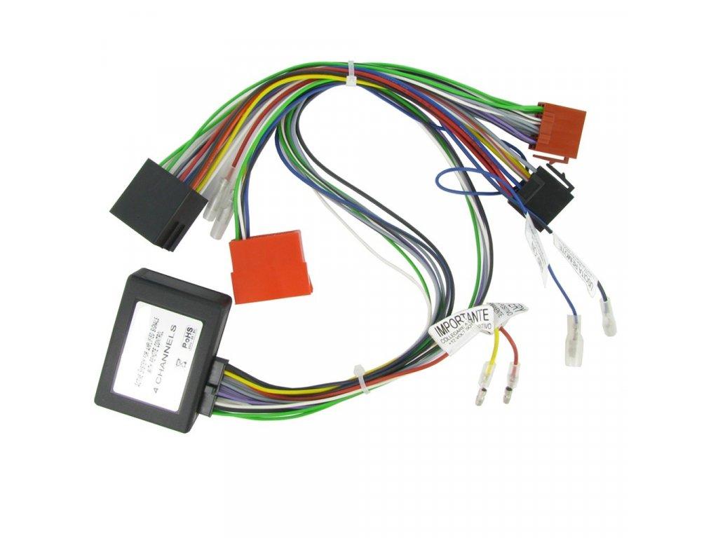 ISO adaptér pro autorádio, Audi s BOSE audio RISO-197