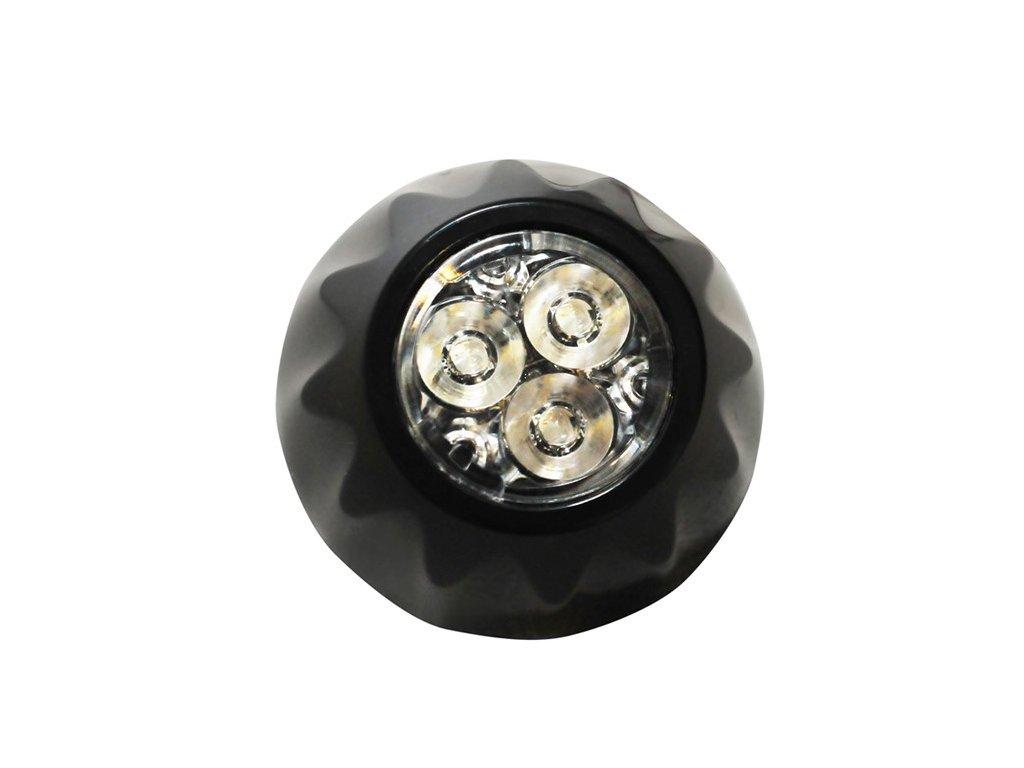 Poziční výstražné světlo, 3 LED, 12-24V, modré FAL03-B