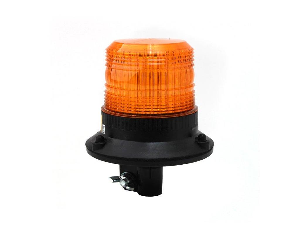 Xenonový maják, úchyt na tyč, 12-80V, oranžový 082-A 082-A