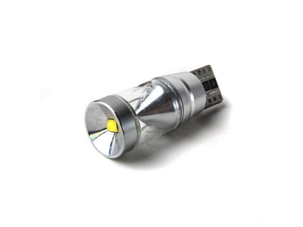 LED žárovka T10, 450lm, canbus, bílá, 2 ks  LED T10 3-450