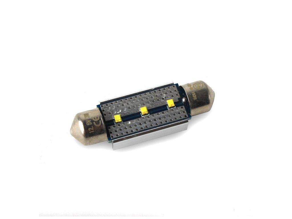 LED žárovka Sufit, 36mm, 450lm, canbus, bílá, 2ks  LED 36SUFIT 3-450
