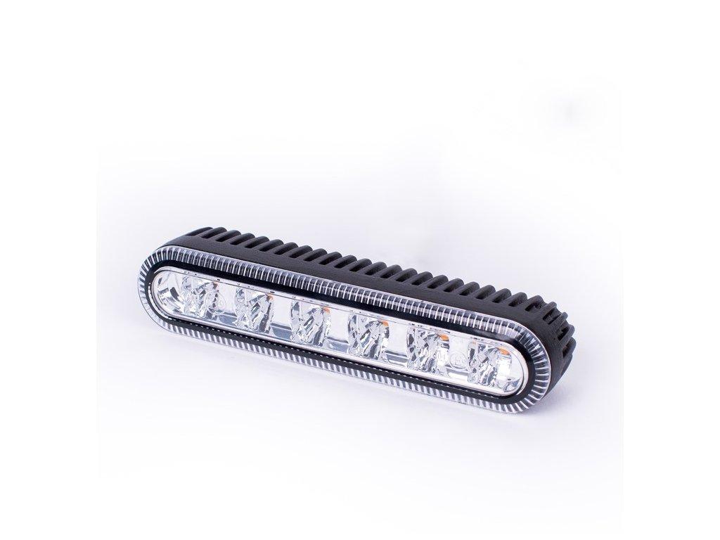 Poziční výstražné světlo, 6xLED, 12-24V, bílé ED5000W