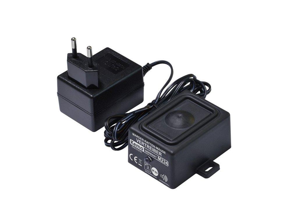 KEMO Ultrazvukový odpuzovač, 230V, IP65  M234