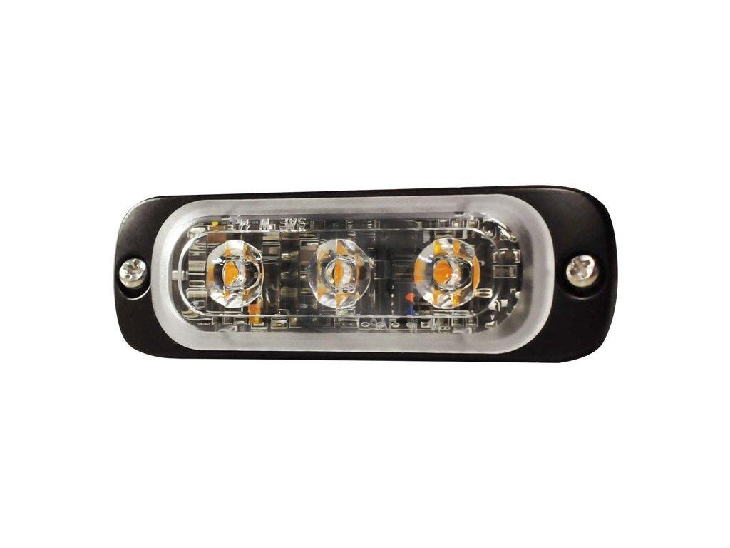 Poziční výstražné světlo, 3LED, oranžové ST3-A