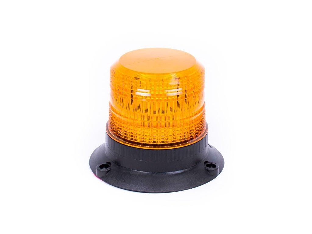 Oranžový maják s 3-bodovým úchytem, 12LED, DB5001A