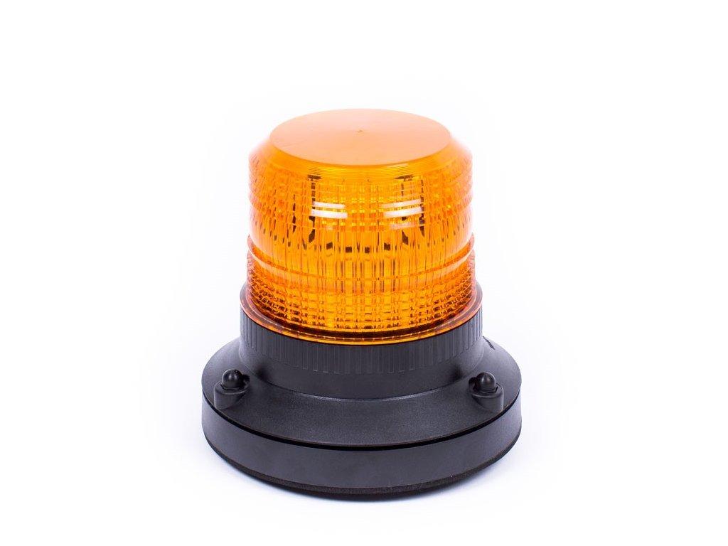 Oranžový maják s 1-bodovým úchytem, 12LED, DB5002A