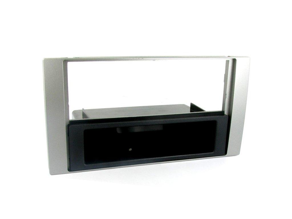 Plastový rámeček 1DIN/2DDIN, Ford, stříbrná PF-2247 3