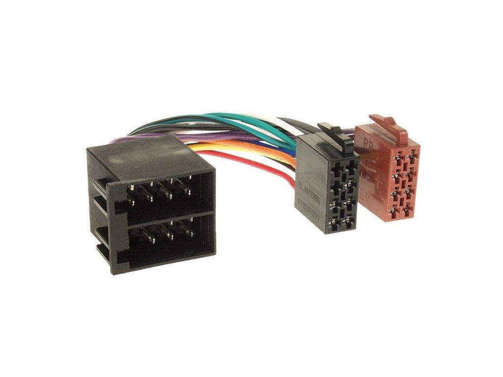 ISO rádio adaptér univerzální RISO-088