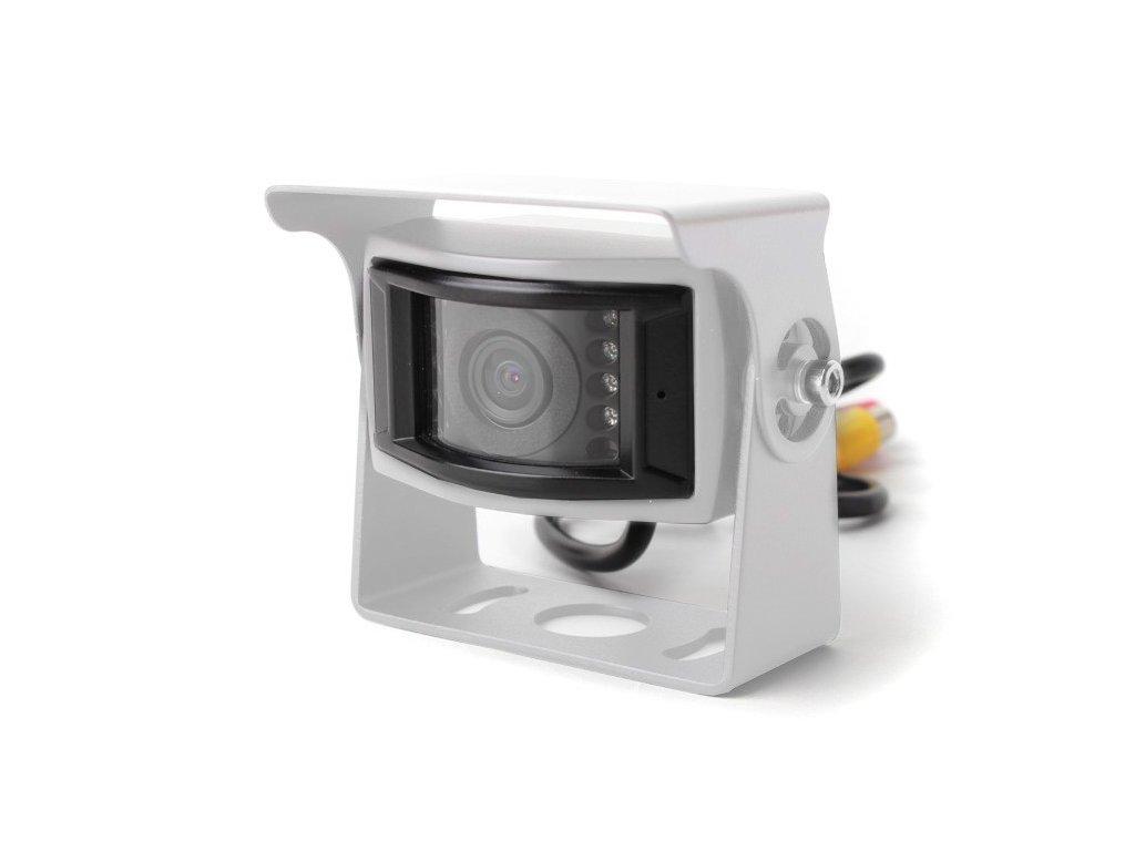 Univerzální parkovací kamera 12-24V, bilá BC UNI-09W