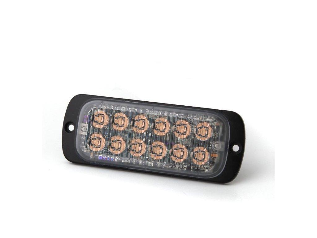 Poziční výstražné světlo, 12 LED, Class 2, R65 oranžové M62C2-A