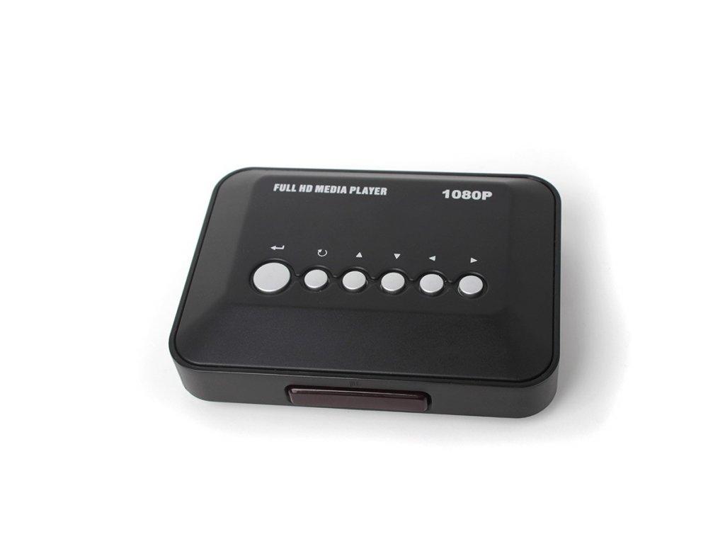 Univerzální multimediální USB přehrávač do auta MEDIA BOX