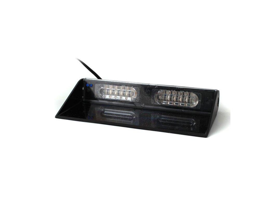 Interiérové výstražní světlo, 12x LED, modré / modré MMAX12-BB