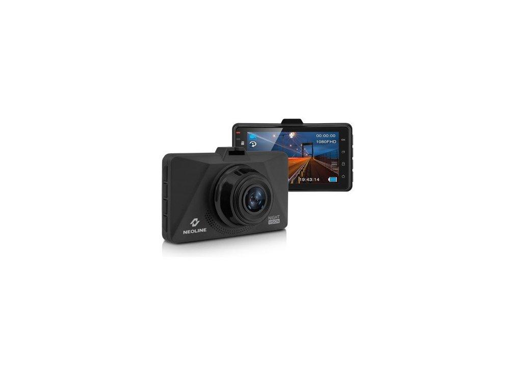 Palubní kamera do auta, Active NightVision, parkovací režim Neoline S39