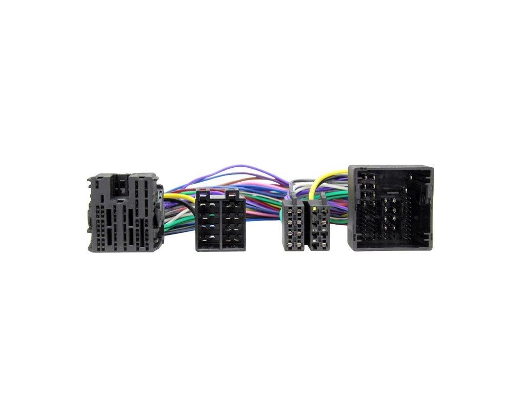 ISO adaptér pro HF sady, Peugeot, Citroen, Toyota (16-) ISO 532
