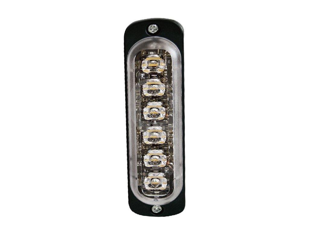 Poziční výstražné světlo, vertikální instalace, 6 LED, R65, modré ST6V-B