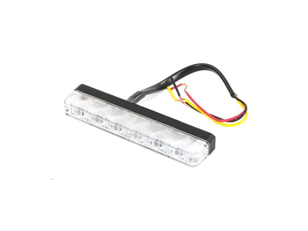Poziční výstražné světlo, 6 LED, 12-24V, R65, oranžové ES6-A