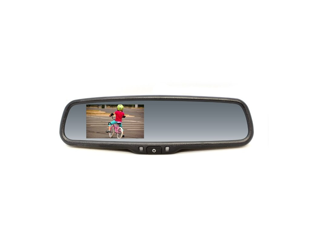 Zpětné zrcátko s LCD displejem, Skoda, VW, Audi RM LCD SK