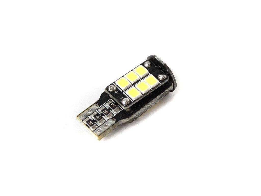 LED žárovka MICHIBA, T10 CANBUS, 6500K, 120lm, 2ks HL 517