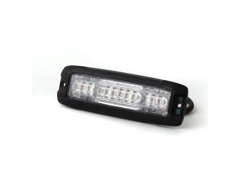 Pozičné výstražné svetlo, 6 + 6 LED, 12-24V, červené XT12-R