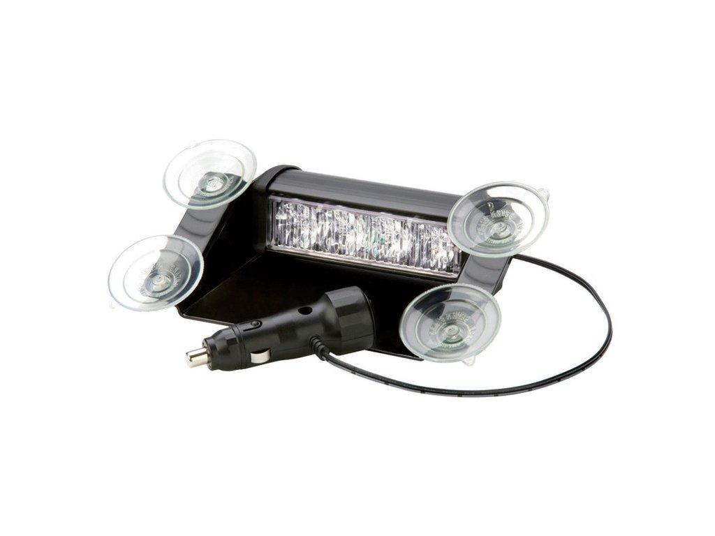Interiérové výstražní světlo, 4x LED, modré 3611B