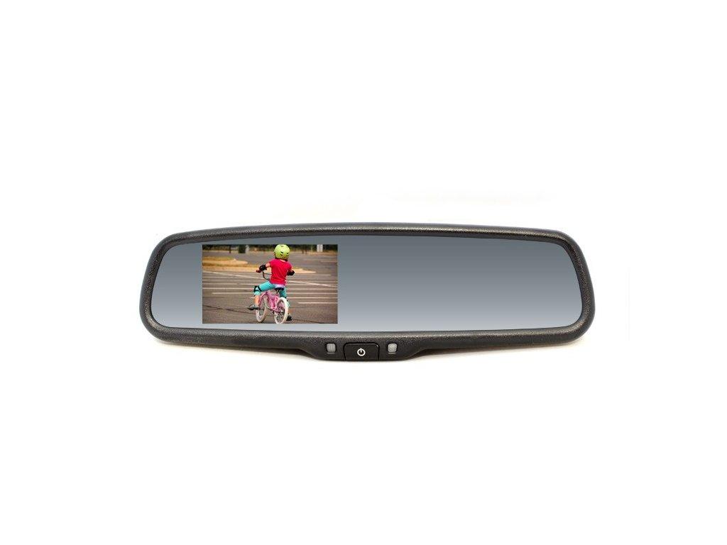 Zpětné zrcátko s LCD displejem se stmíváním, VW, Škoda RM LCD-A VW2