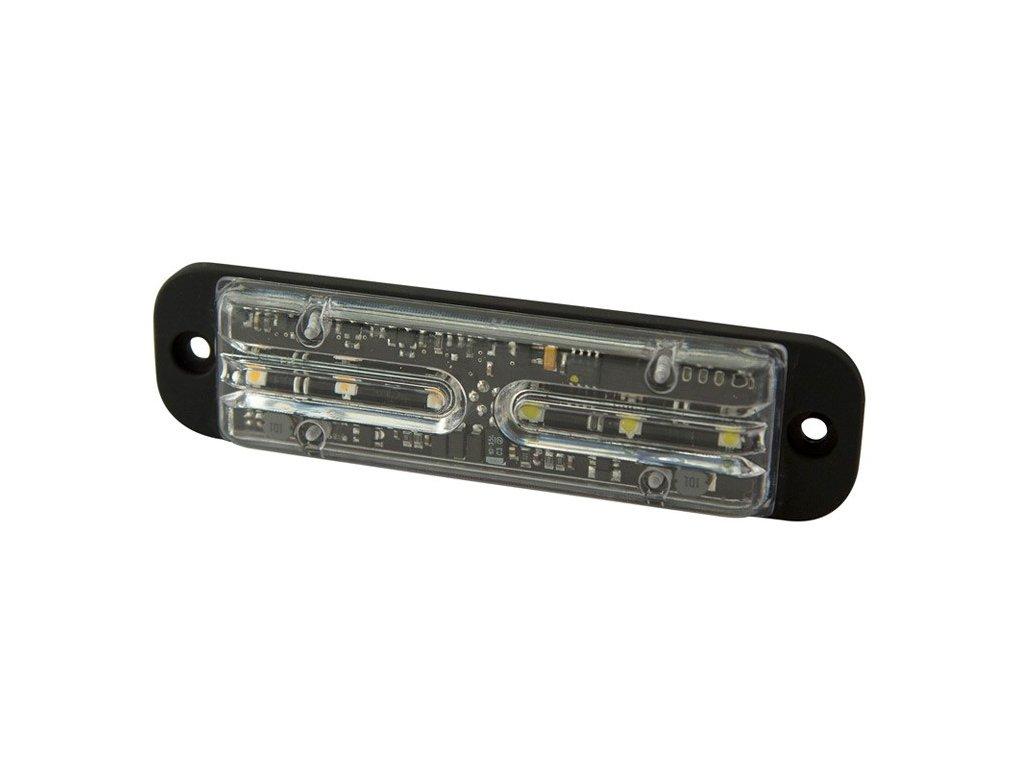 Poziční výstražné světlo, 6LED, 12-24V, R65, oranžové / modré ED3701-AB