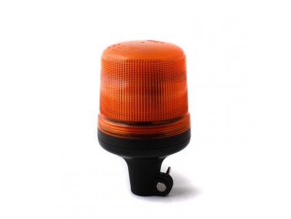 Oranžový maják s úchytem na tyč, 15LED, B18-DP-A