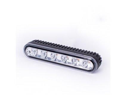 Poziční výstražné LED světlo, 12 / 24V, R65, modré ED5000B