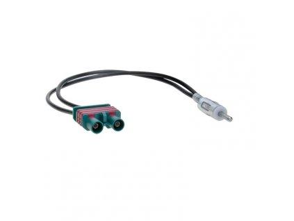 Anténní adaptér DIN m, 2x Fakra m, Volvo AA-784