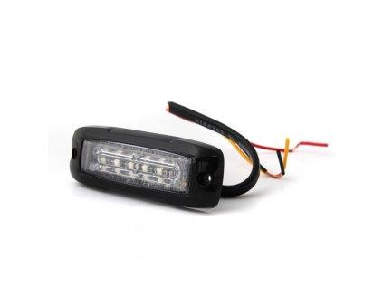 Poziční výstražné světlo, 6 LED, 12-24V, červené XT6-R