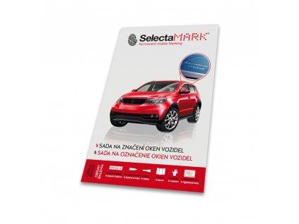 SelectaMark VKIT Leptací sada pro označování skel vozidla