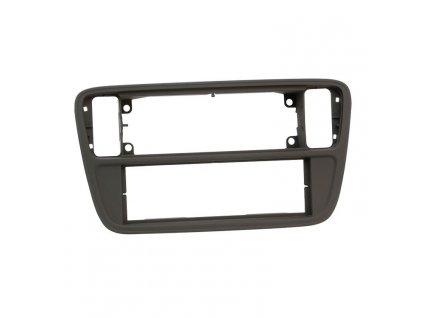 Plastový rámeček 1DIN, Škoda Citigo, VW Up!, Seat - černá matná PF-2596 1