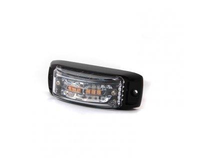 Poziční výstražné světlo, 6 LED, 12-24V, R65, oranžové AL6-A