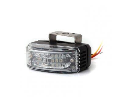 Výstražné světlo do zpětného zrcadla, 6 LED, R65, modré AL6-MIR-B