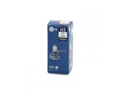 Halogenová žárovka GE H3