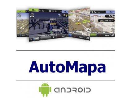 1-roční licence Europa Android Automapa A-1y