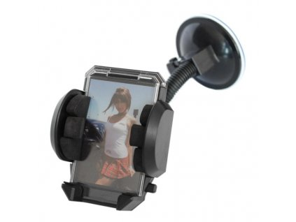 Držák telefonu na sklo