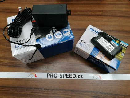 Alarm + GPS Sniper + Mikrovlnný senzor KEETEC
