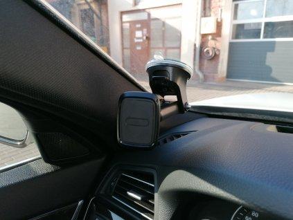 Držák telefonu na sklo s magnetickou plochou
