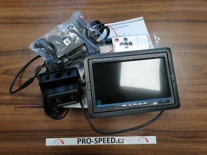 """Couvací kamera s monitorem LCD 7"""""""