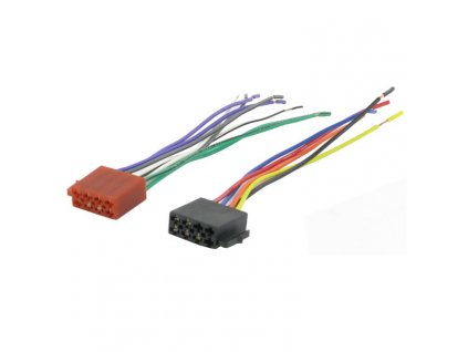 ISO konektor pro autorádia, samice, volné konce RISO-056 UNI