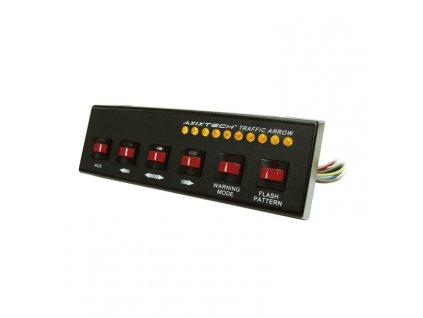 Ovládací panel k LED lampám a směrovým alejím, 6 tlačítkový SW610