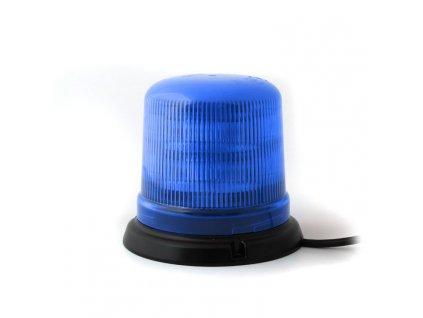 Modrý maják s 3-bodovým úchytem, 10LED, B14-3B-B