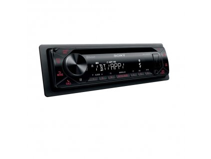 Autorádio SONY, 1DIN s CD, USB, BT, červené MEXN4300BT.EUR