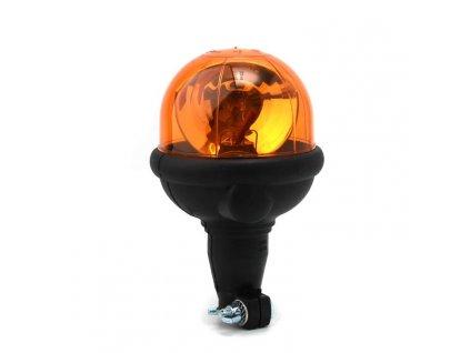 Rotační výstražný maják, flexibilní úchyt na tyč, R65, oranžový, bez žárovky 304.000
