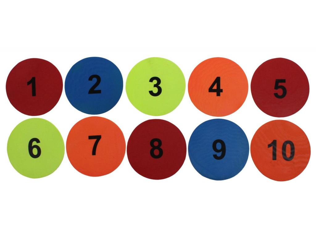 Markierscheiben Nummer1bis12 2304 5